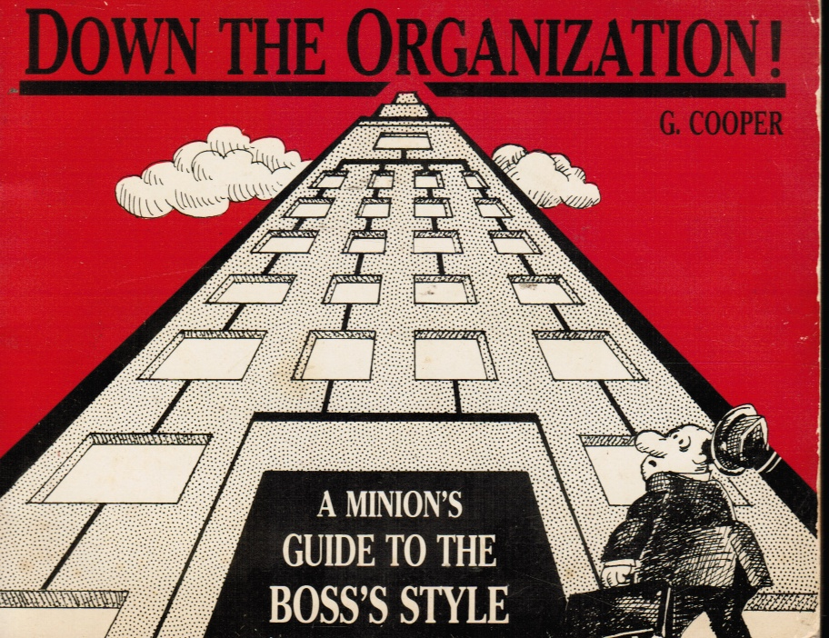 Image for Down the Organization: a Minion's Guide to the Boss's Style