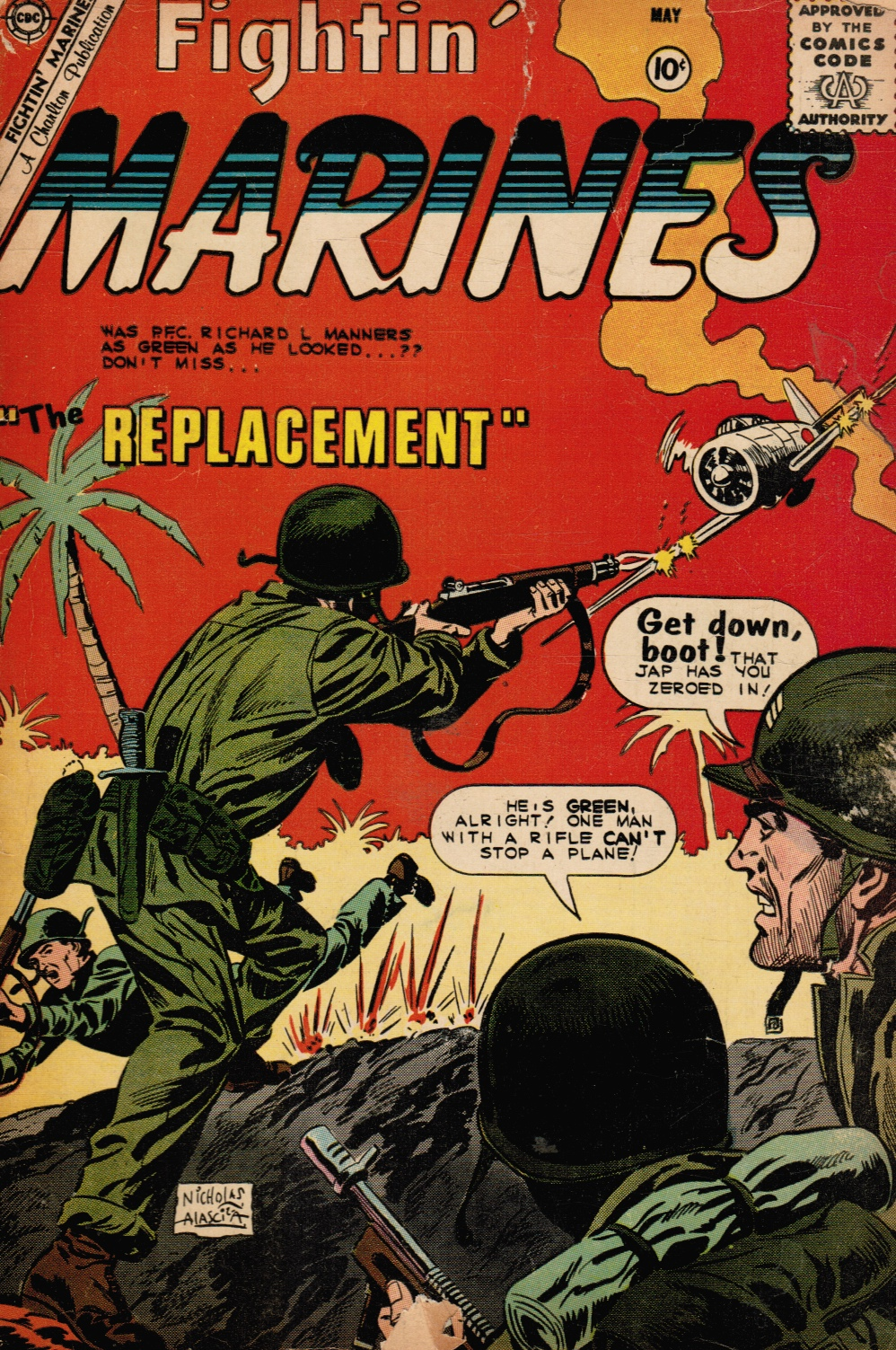Image for Fightin' Marines: Volume 1, Number 35