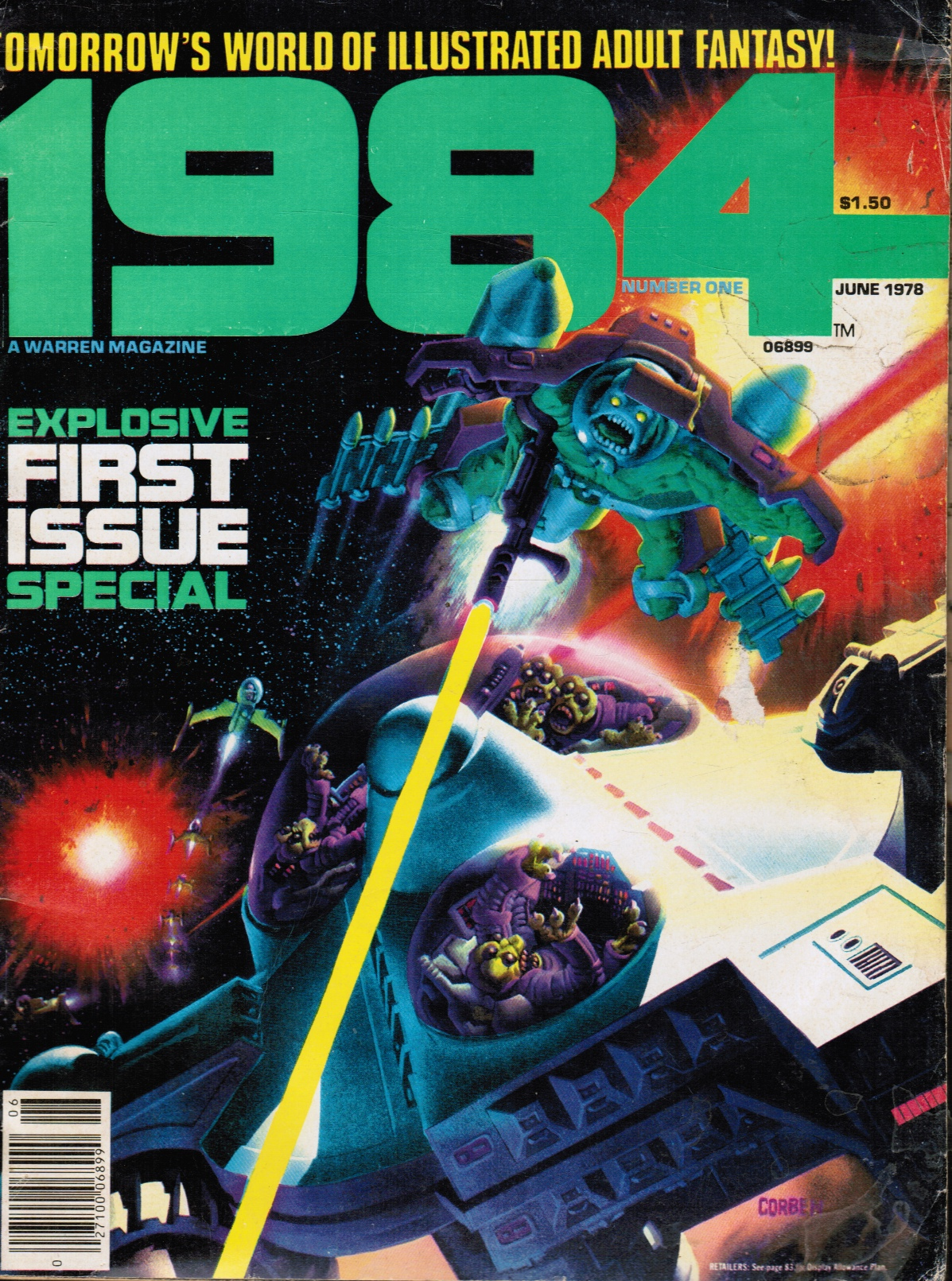 Image for 1984 Magazine: Issue #1 June 1978