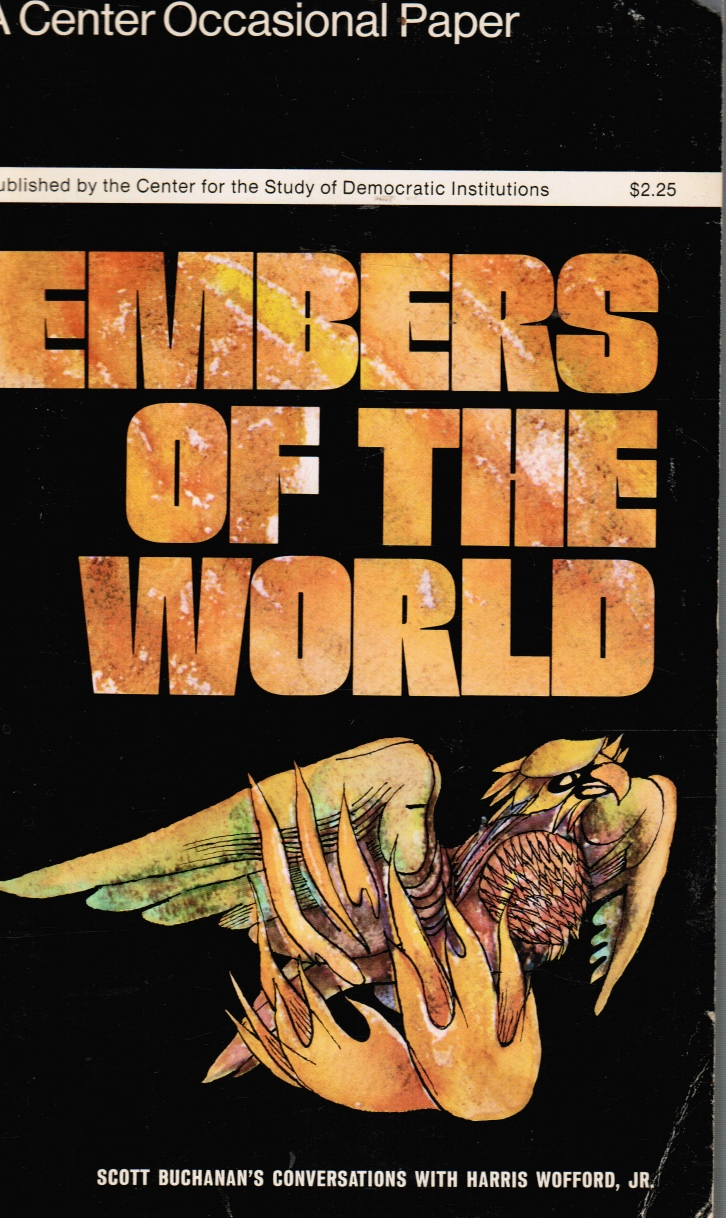 Image for Embers of the World: Conversations with Scott Buchanan