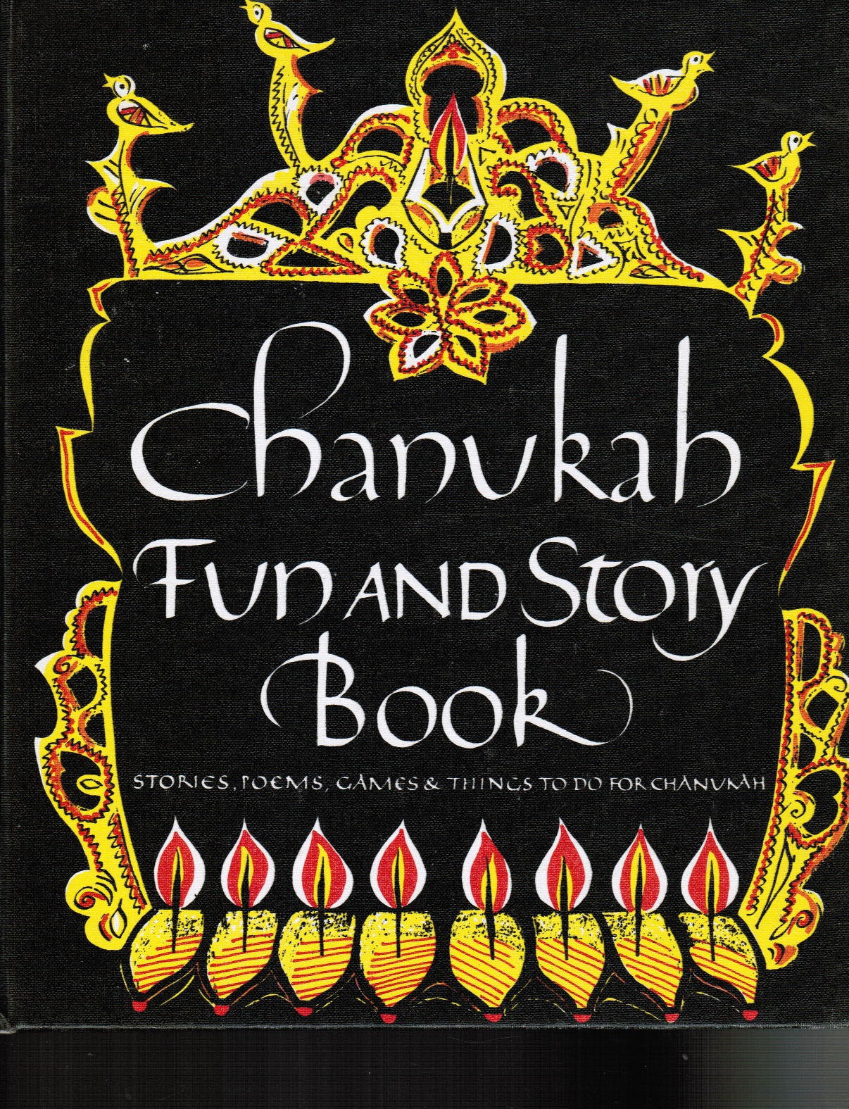 Image for Chanukah Fun And Story Book: