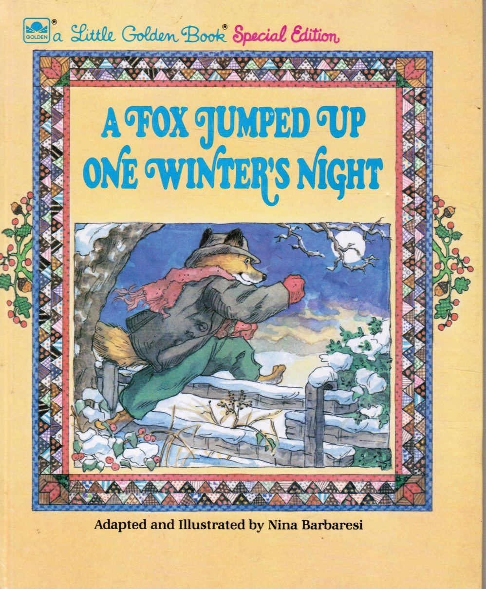 Image for A Fox Jumped Up One Winter's Night