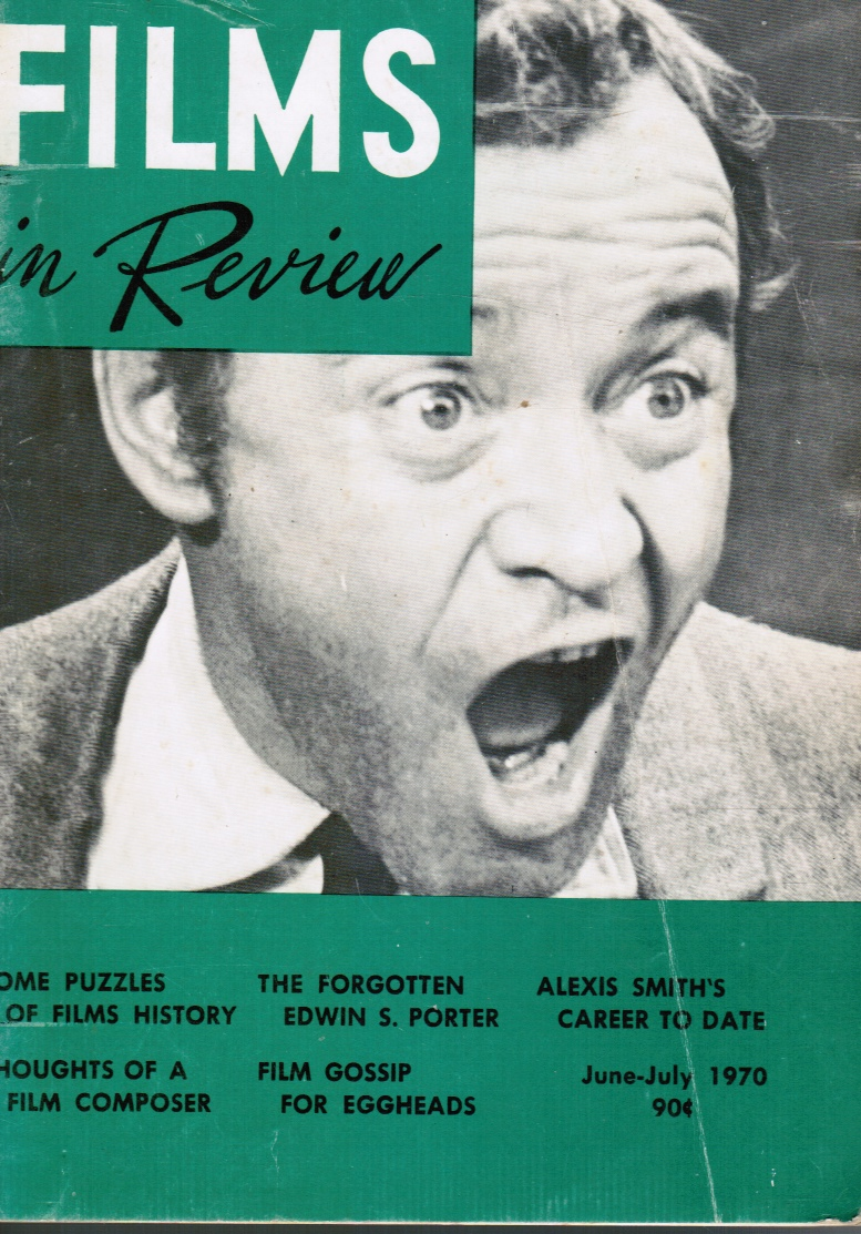 Image for Films in Review: June-July 1970 Jack Lemmon (Cover)