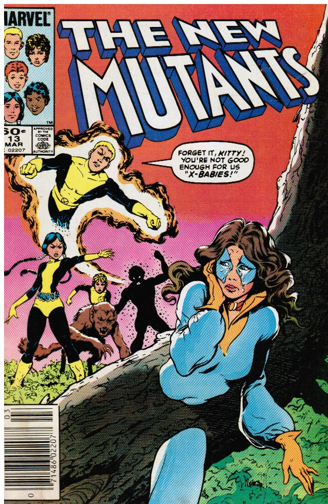 Image for The New Mutants #13
