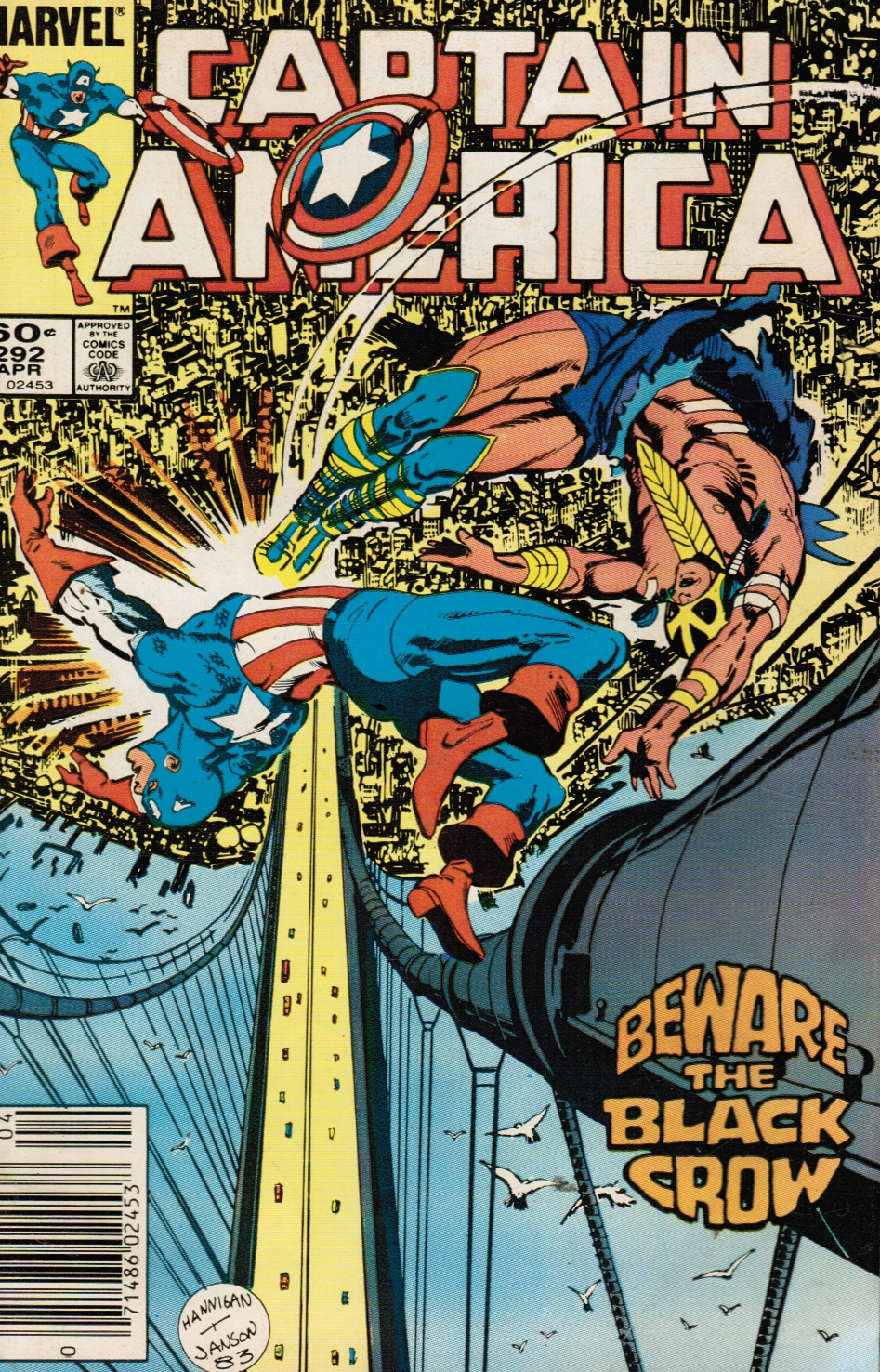 Image for Captain America #292: Beware of the Black Crow