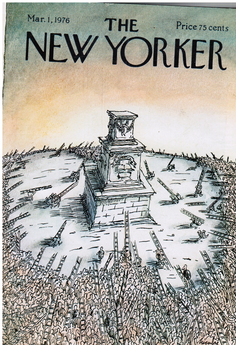 Image for The New Yorker Magazine: Mar 1, 1976 Vietnam War Casualty; A Guide to Berlin