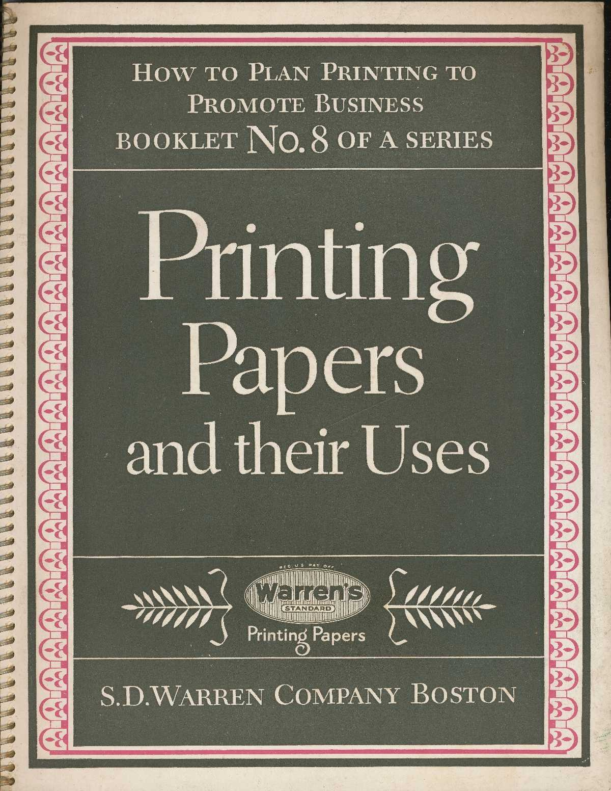 Image for Printing Papers and Their Uses: How to Plan Printing to Promote Business