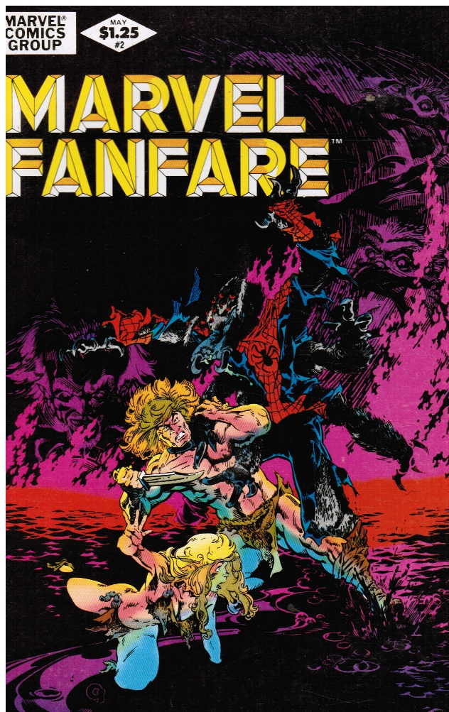 Image for Marvel Fanfare Vol. 1, No. 2, May 1982