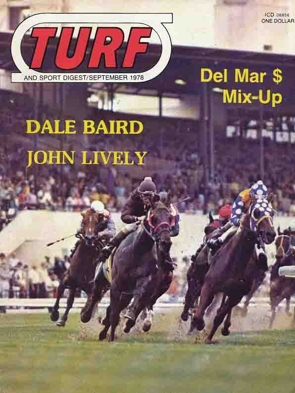 Image for Turf and Sport Digest: September 1978  (Dale Baird, John Lively)