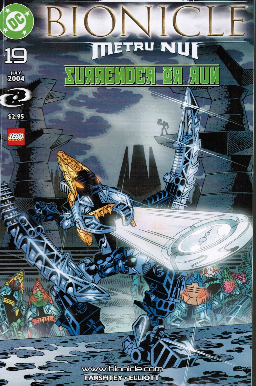 Image for Bionicle: Nui-Jaga #19 : Surrender or Run