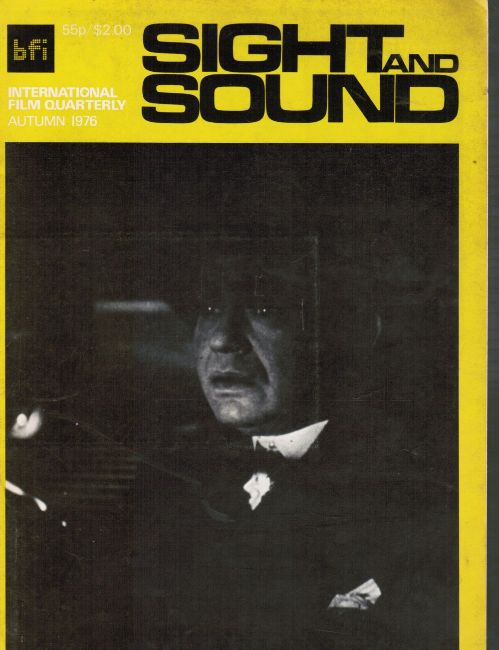 Image for Sight and Sound International Film Quarterly - Vol 45, No 4, Autumn 1976 'The Woman in the Window' (Cover)