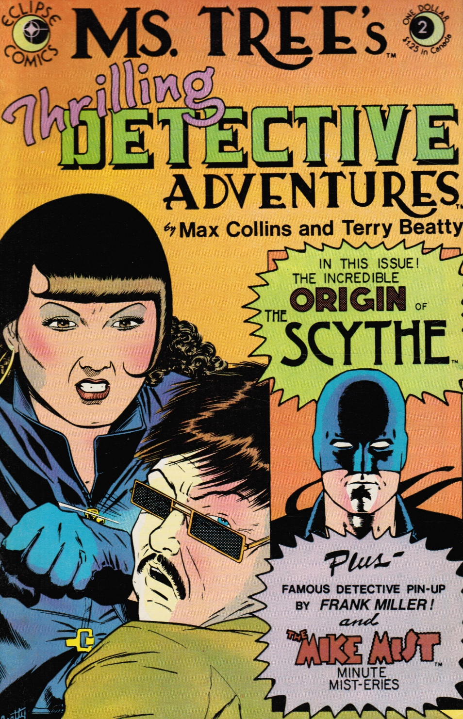 Image for Ms. Tree's Thrilling Detective Adventures #2 April 1983