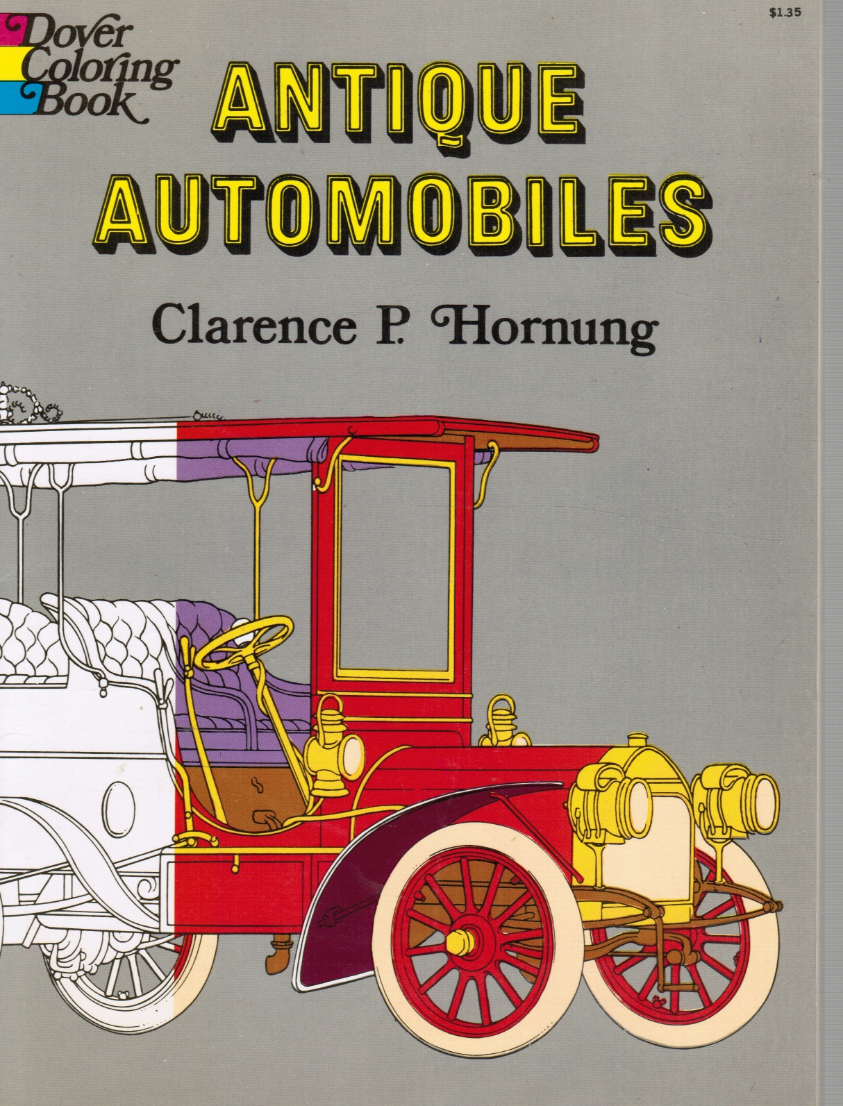 Image for Antique Automobiles Coloring Book