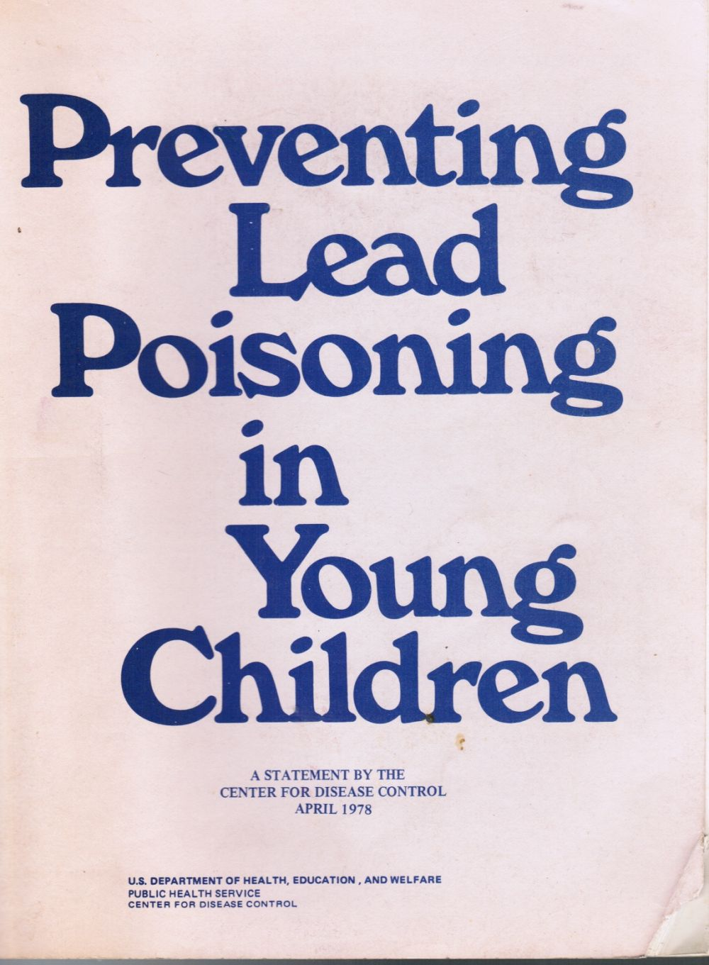 Image for Preventing Lead Poisoning in Young Children
