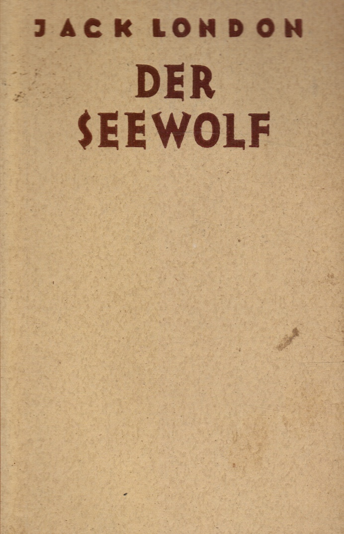 Image for Der Seewolf  (The Sea-Wolf)