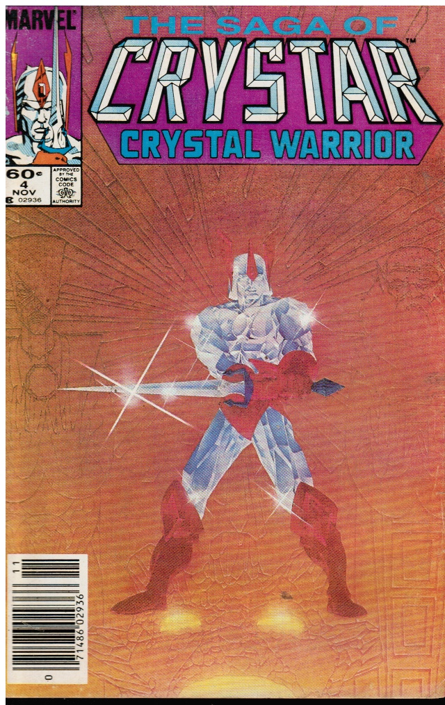 Image for The Saga of Crystar, Crystal Warrior #4