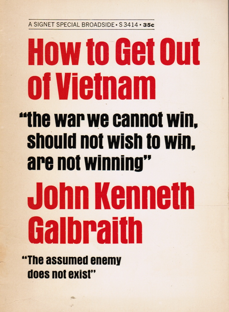 Image for How to Get out of Vietnam: a Workable Solution to the Worst Problem of Our Time
