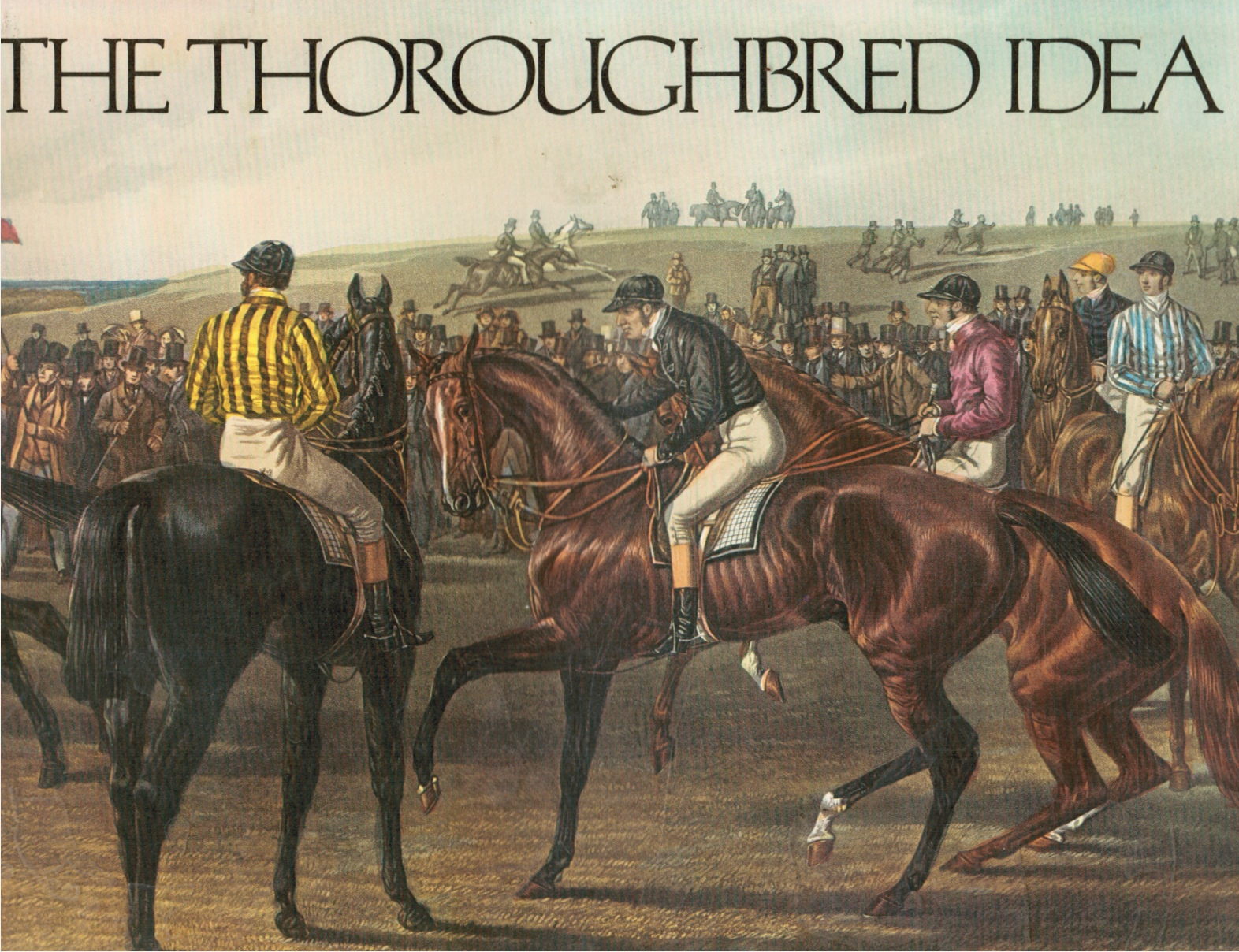 Image for The Thoroughbred Idea
