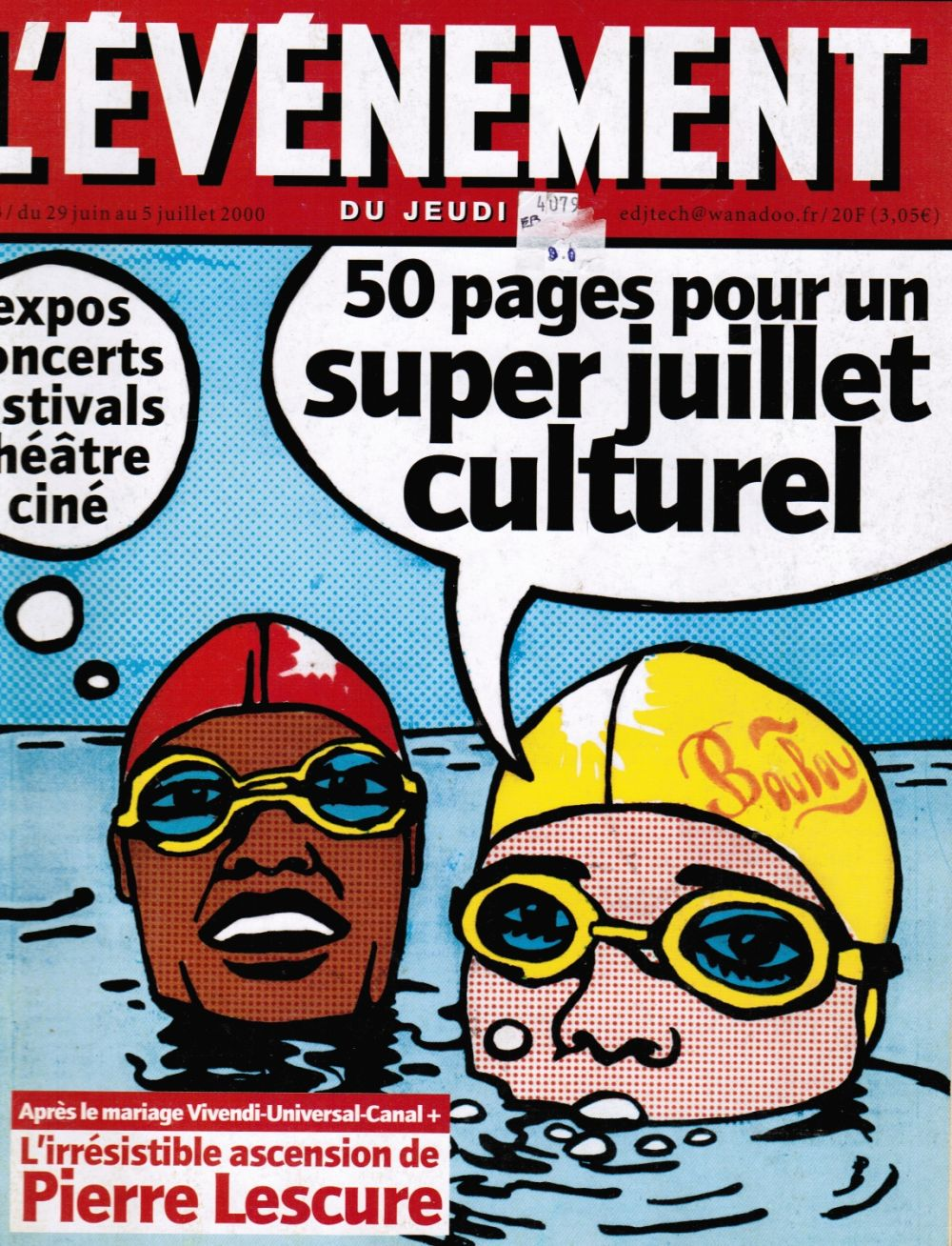 Image for L'Evenement Du Jeudi: No 33 5 Juillet 2000