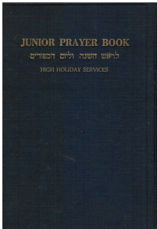 Image for The Junior Prayer Book. Volume Two High Holiday Services. Responsive Readings, Meditations, Hymns and Original Prayers in English