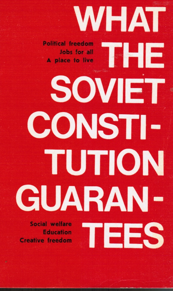 Image for What the Soviet Constitution Guarantees