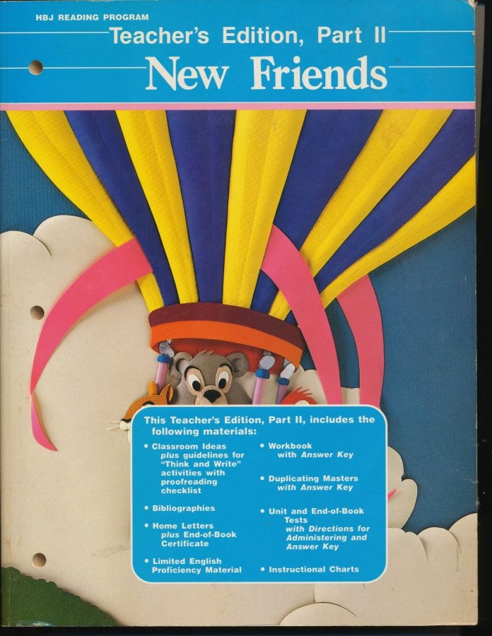 Image for New Friends: (2 Books)  Teacher' Edition Workbooks
