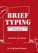 Image for Brief typing
