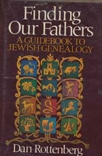 Image for Finding Our Fathers: a Guidebook to Jewish Genealogy