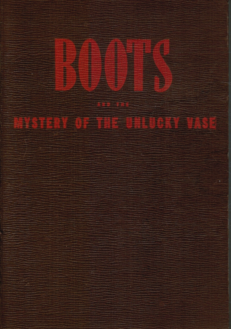 Image for Boots and the Mystery of the Unlucky Vase