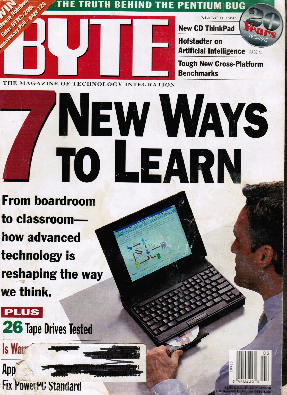 Image for BYTE Magazine March 1995, Volume 20, No 3