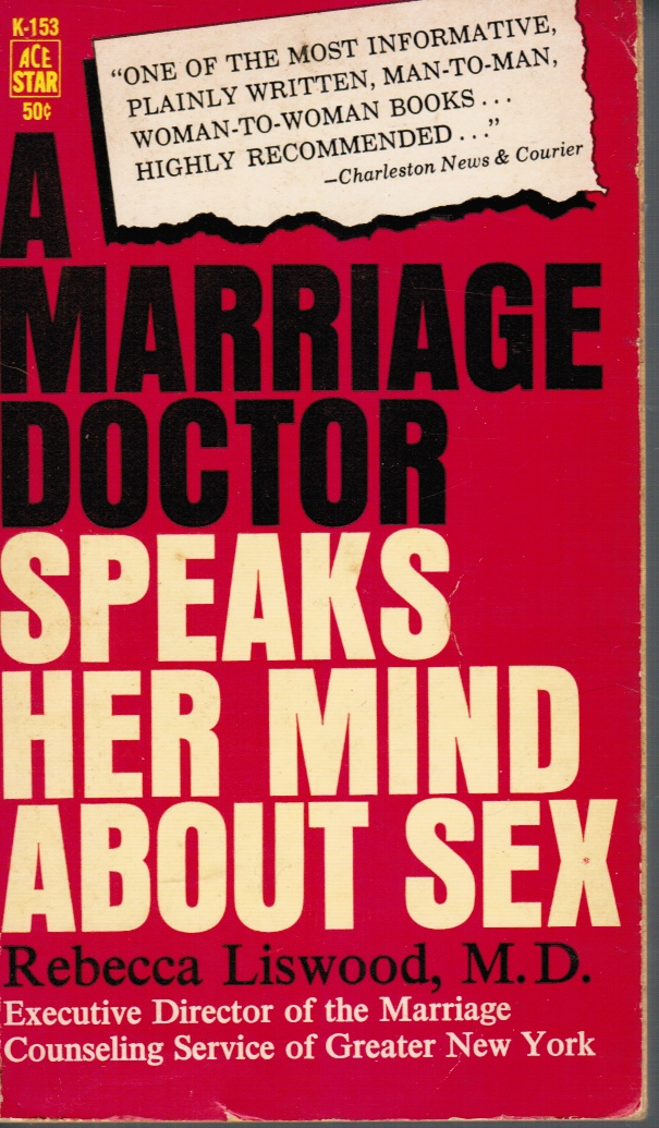 Image for A Marriage Doctor Speaks Her Mind about Sex