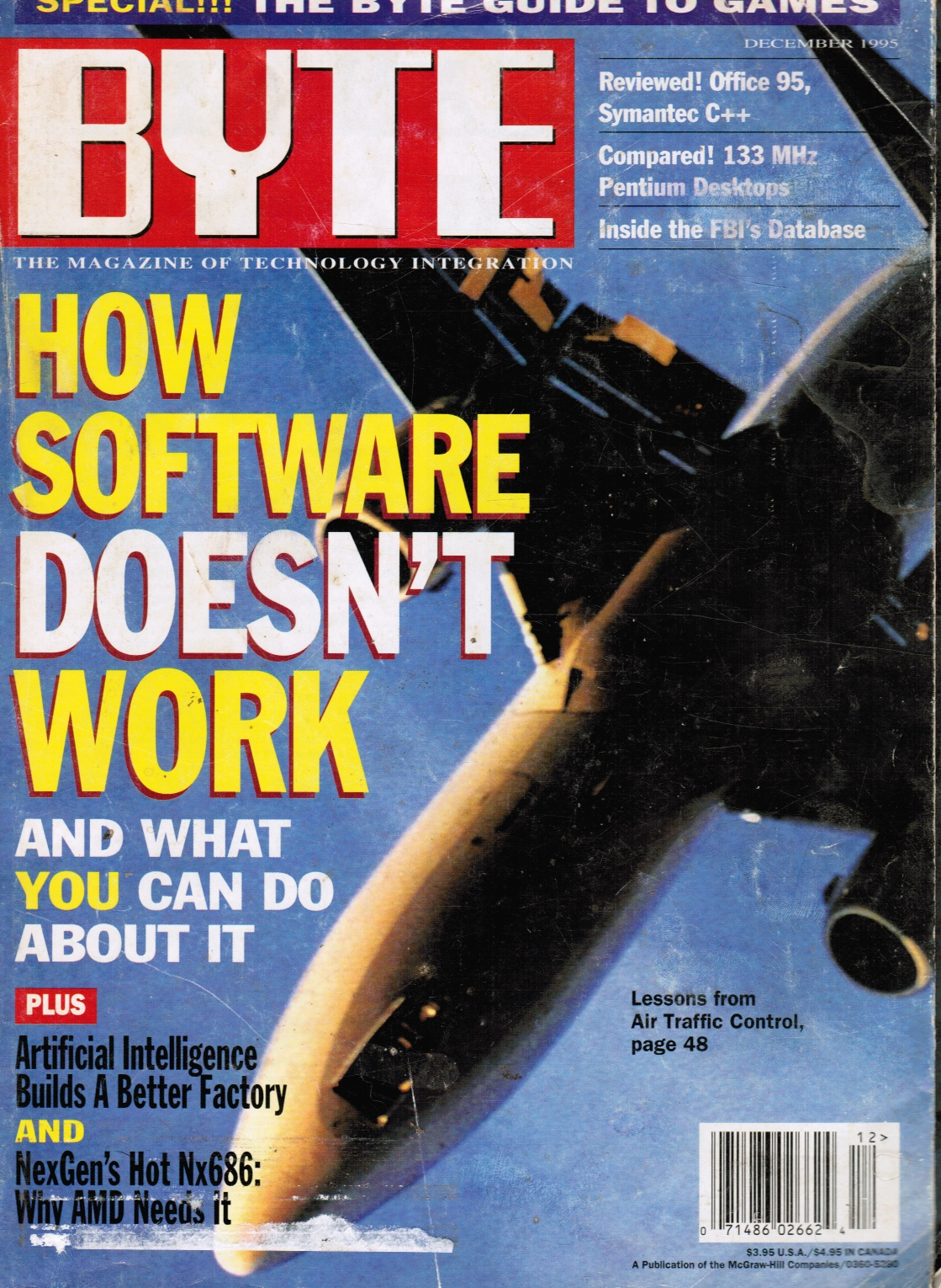 Image for BYTE Magazine December 1995:  Special Issue - the Byte Guide to Games