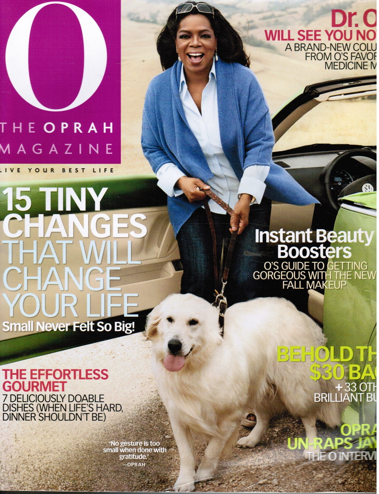 Image for O: the Oprah Magazine October 2009
