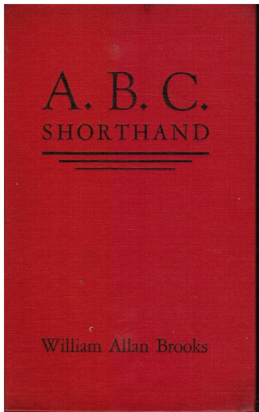 Image for ABC Shorthand System for Lecture and Reading Notes: 12 Easy Lessons