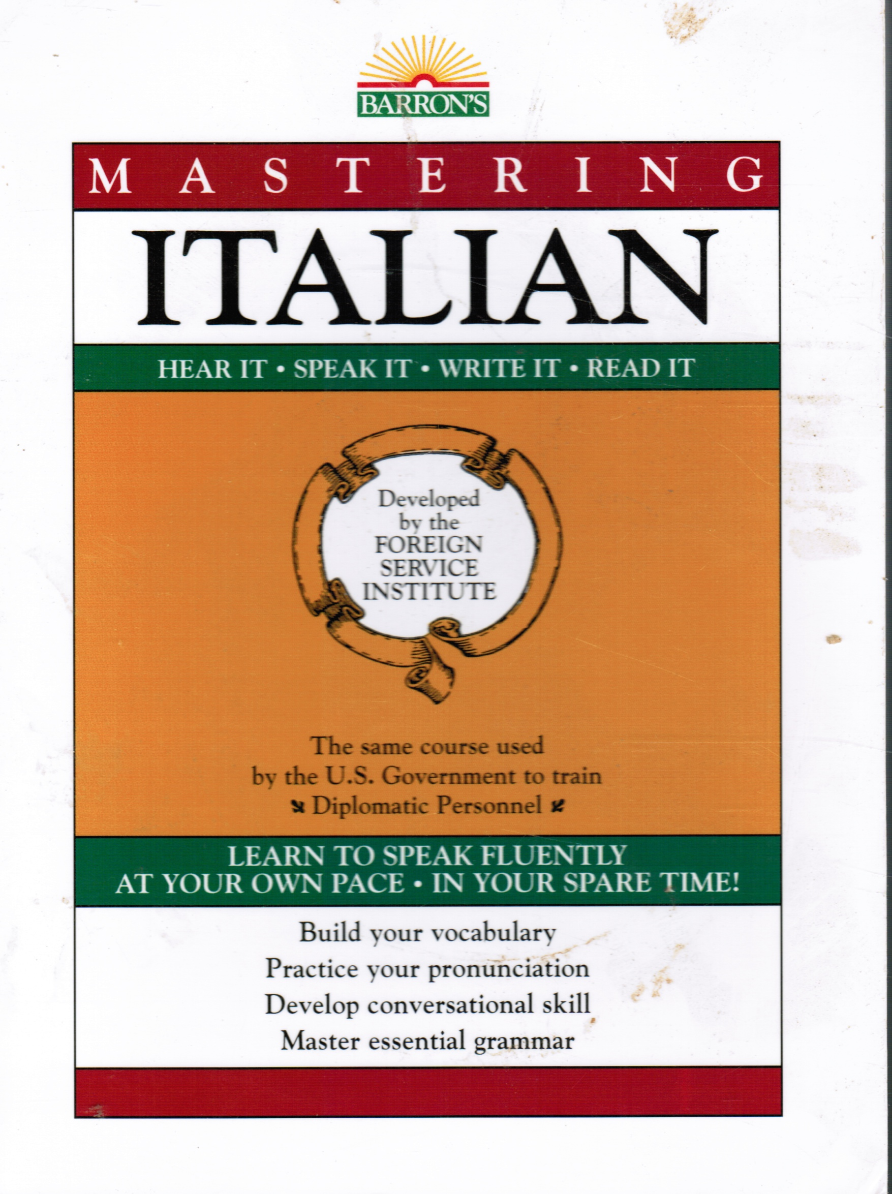 Image for Mastering Italian