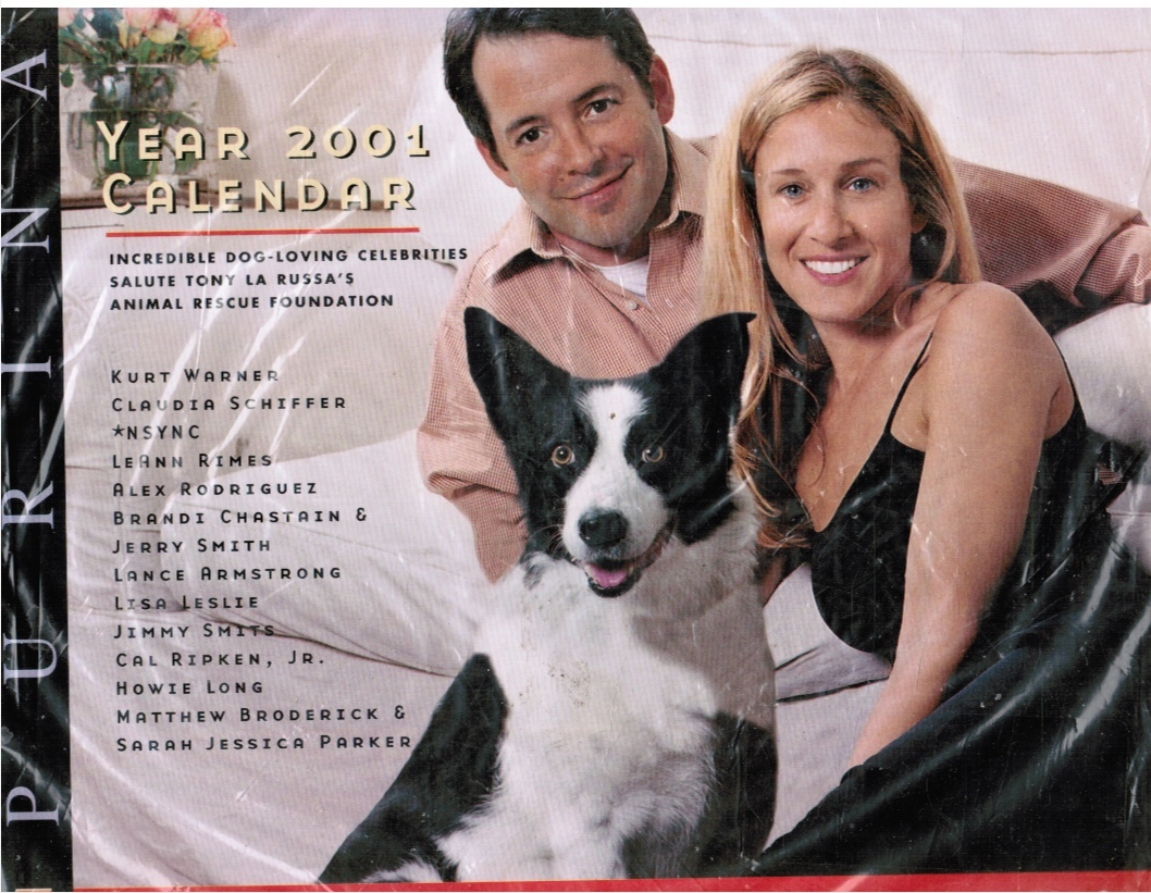 Image for Purina Year 2001 Calendar (Dogs)  Tony La Russ, cover