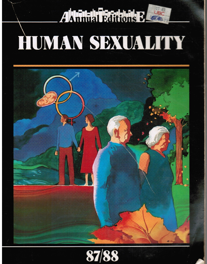 Image for Human Sexuality: 87/88 Annual Editions 87/88