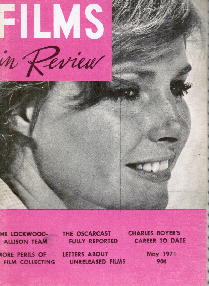 Image for Films in Review: May 1971 Jennifer O'Neill (COVER)