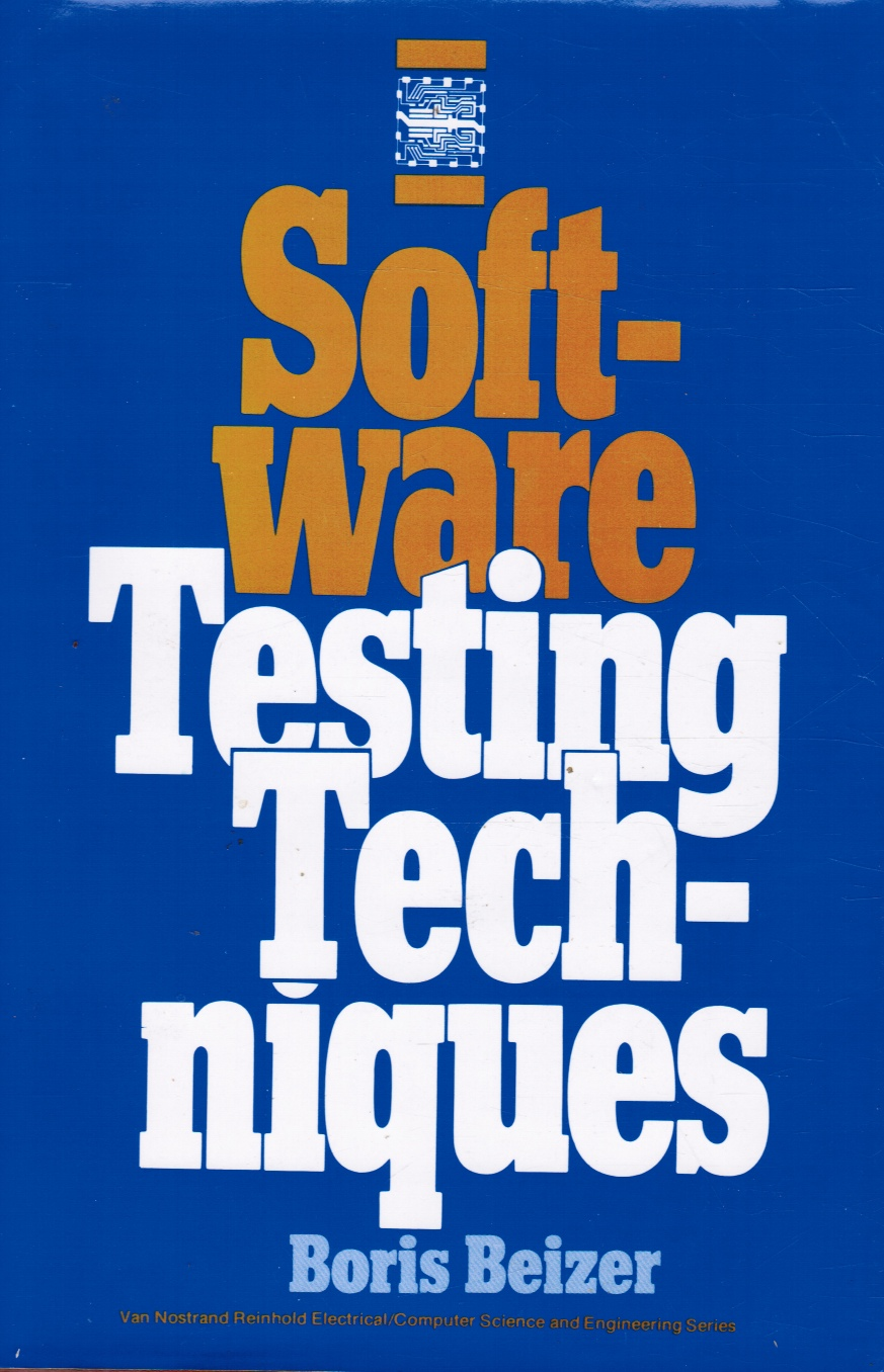 Image for Software Testing Techniques Phd