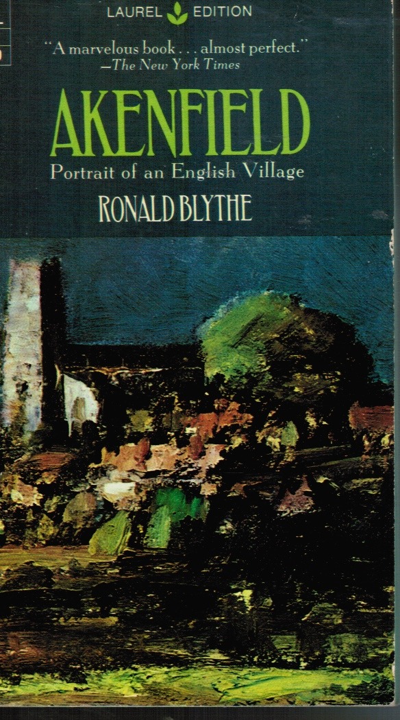 Image for Akenfield: Portrait of an English Village