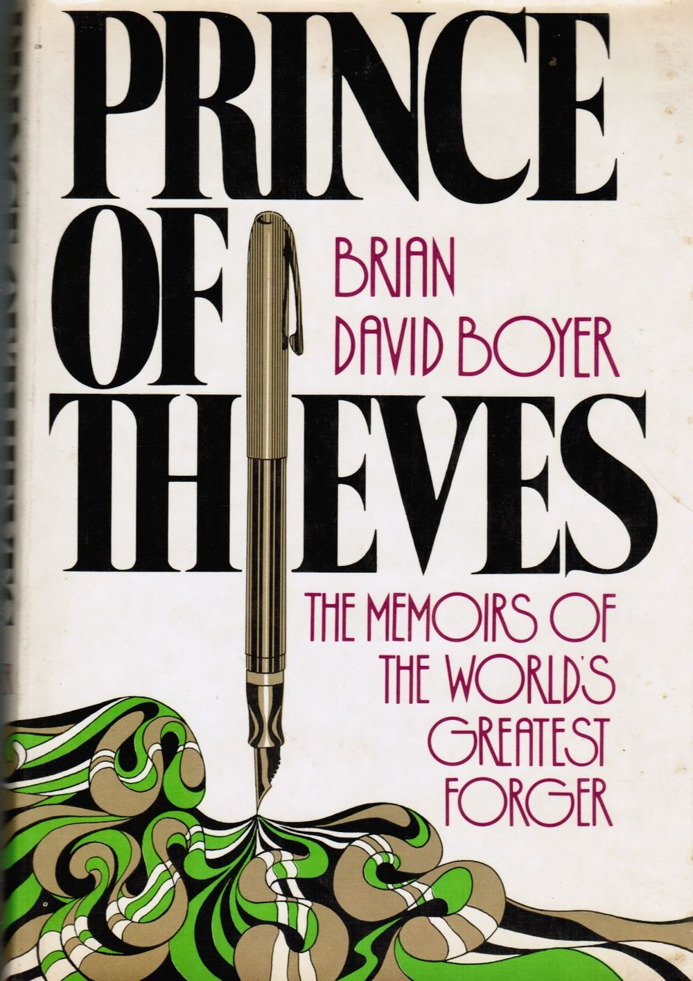 Image for Prince of Thieves: the Memoirs of the World's Greatest Forger