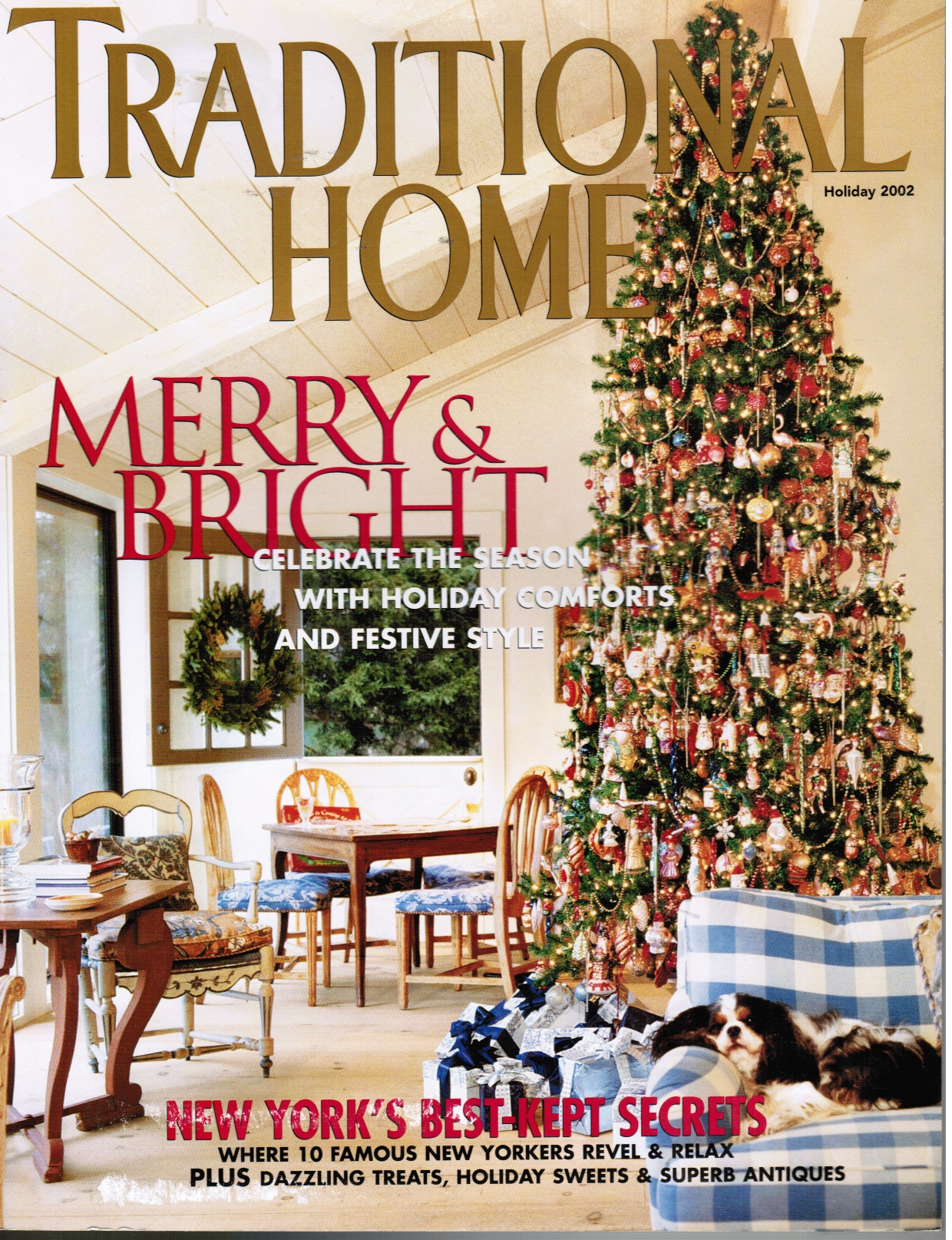 Image for Traditional Home Magazine: Holiday 2002 New Yorkers Reveal Their Best-Loved Places in the City