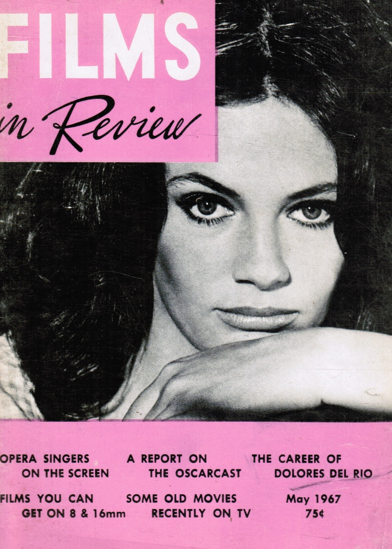 Image for Films in Review May 1967 Jackie Bisset (Cover)