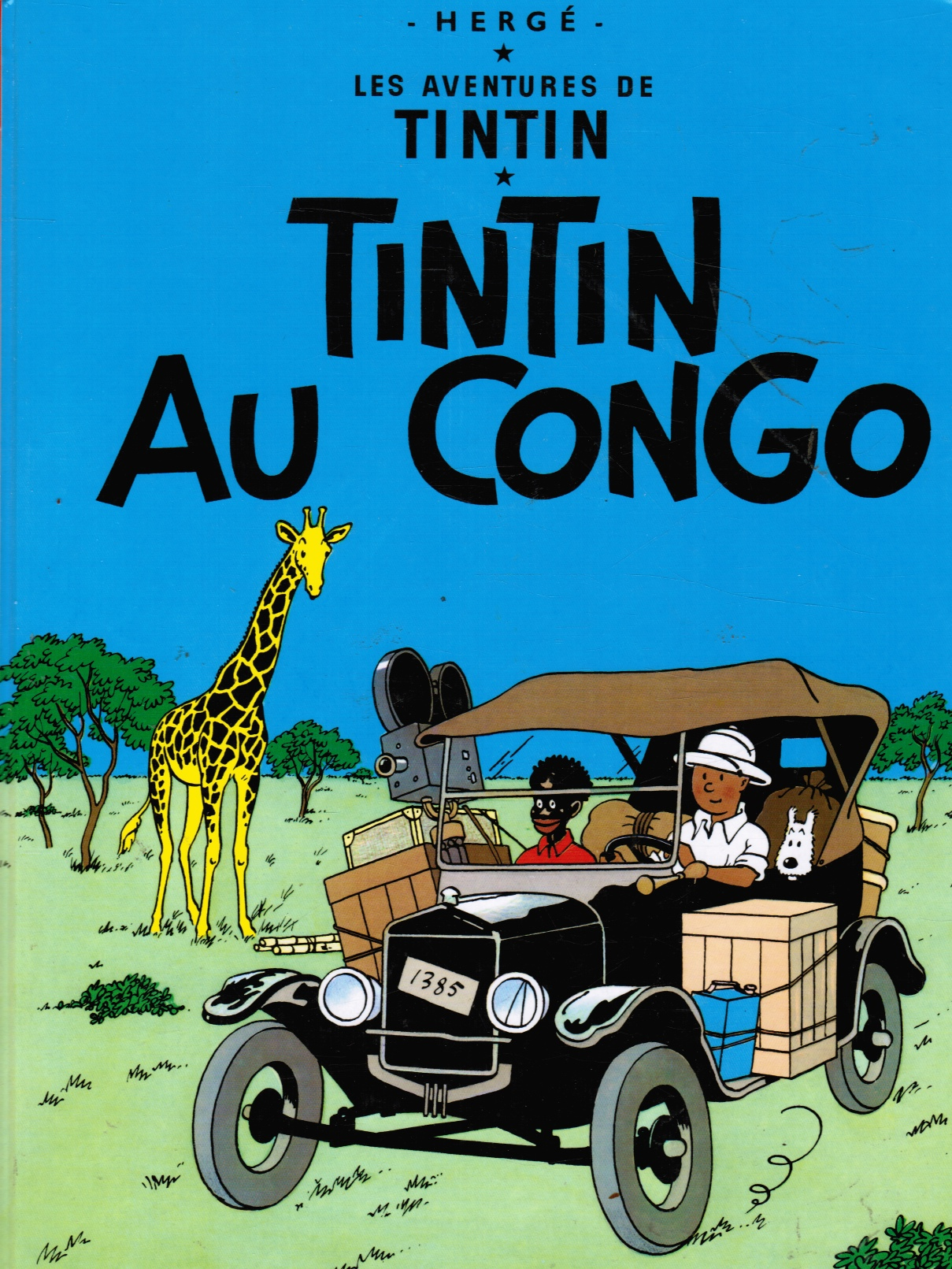 Image for Tintin Au Congo (French Edition)