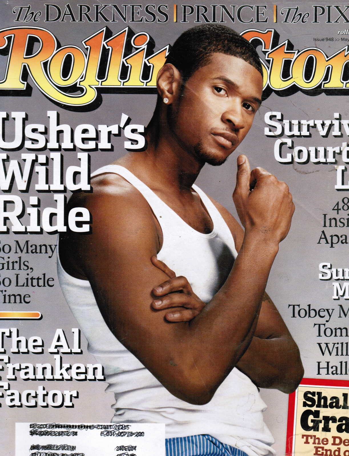 Image for Rolling Stone Magazine #948 May 13th, 2004 (Usher)