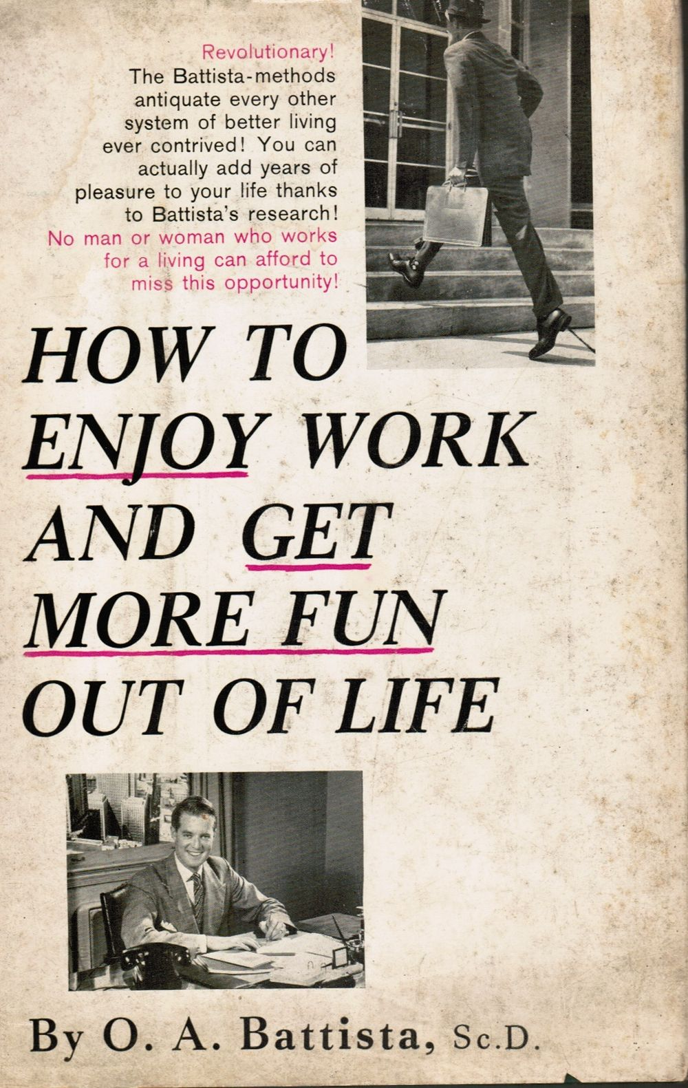 Image for How to enjoy work and get more fun out of life