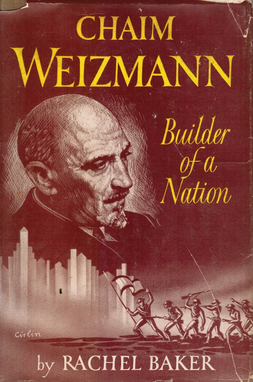 Image for Chaim Weizmann, Builder of a Nation