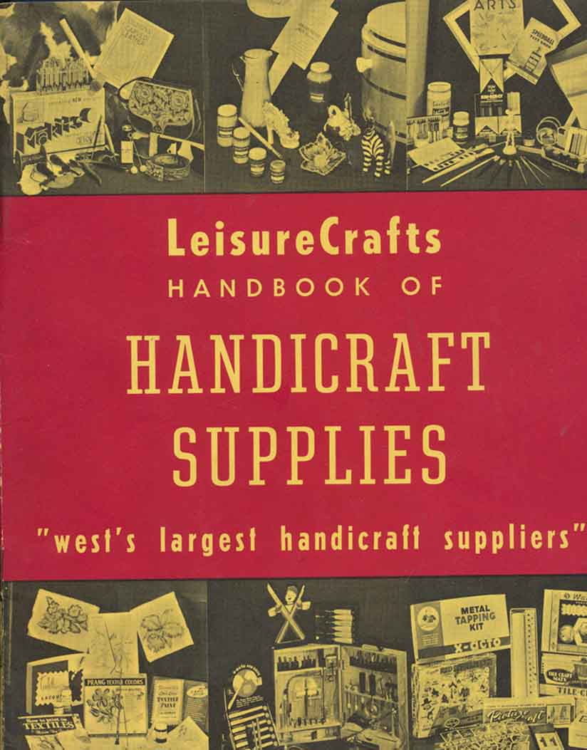 Image for Leisurecrafts Handbook of Handicraft Supplies