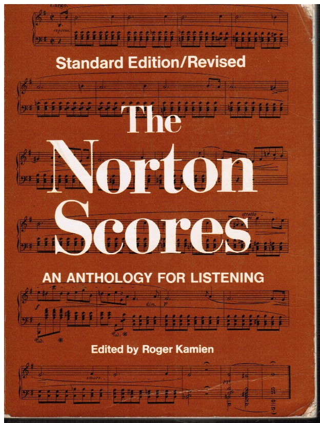 Image for The Norton Scores - an Anthology for Listening - Standard Edition / Revised (One Volume Edition)