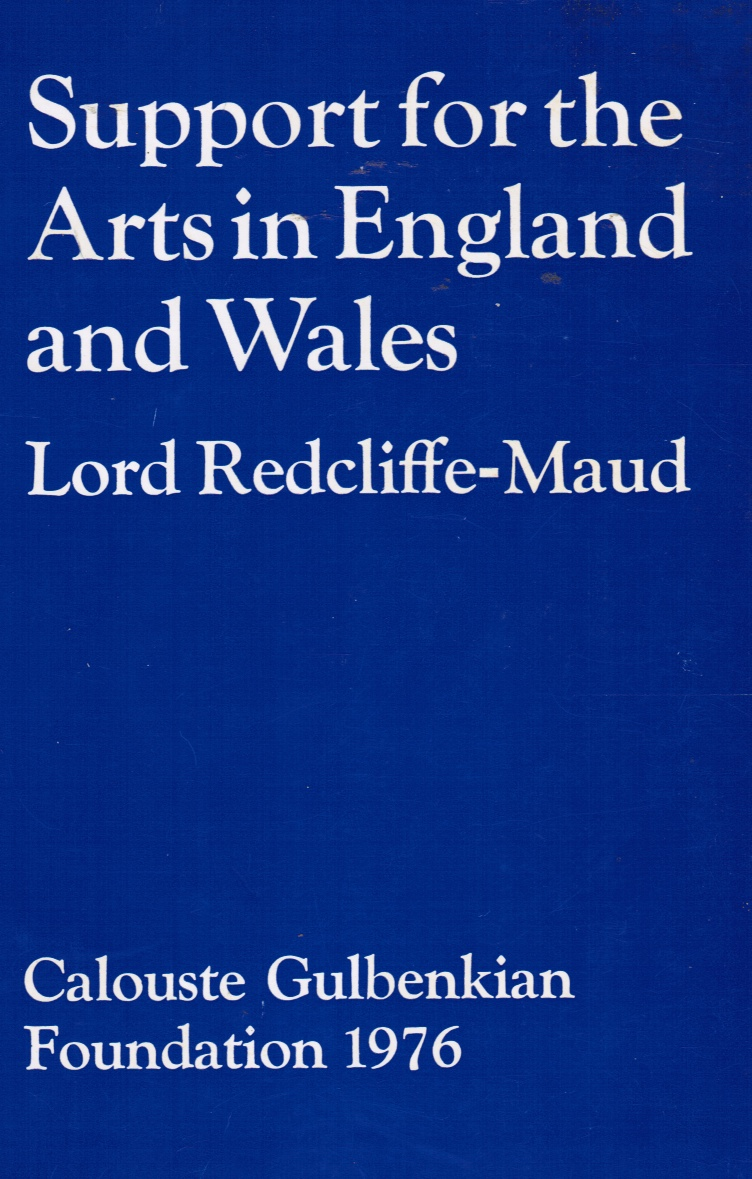 Image for Support for the Arts in England and Wales